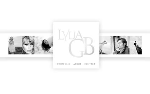 Lylia GB Photo - page d'accueil du site