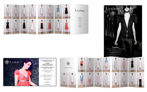Lyubov - lookbook, invitations...