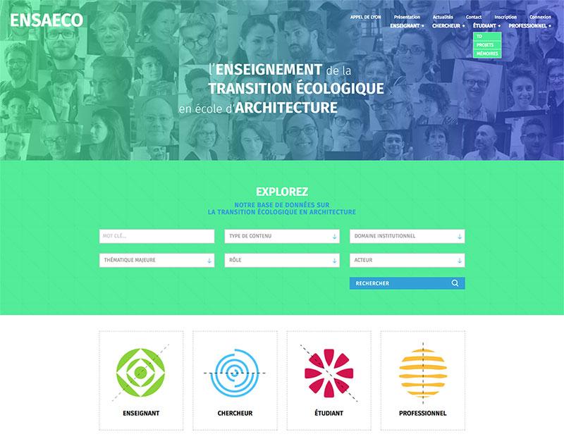 Site internet ENSAECO