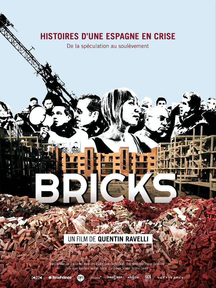 Affiche Bricks, documentaire de Quantin Ravelli, distribué par Survivance