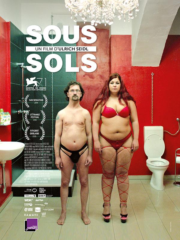 Affiche du film Sous-sols, d'Ulrich Seidl