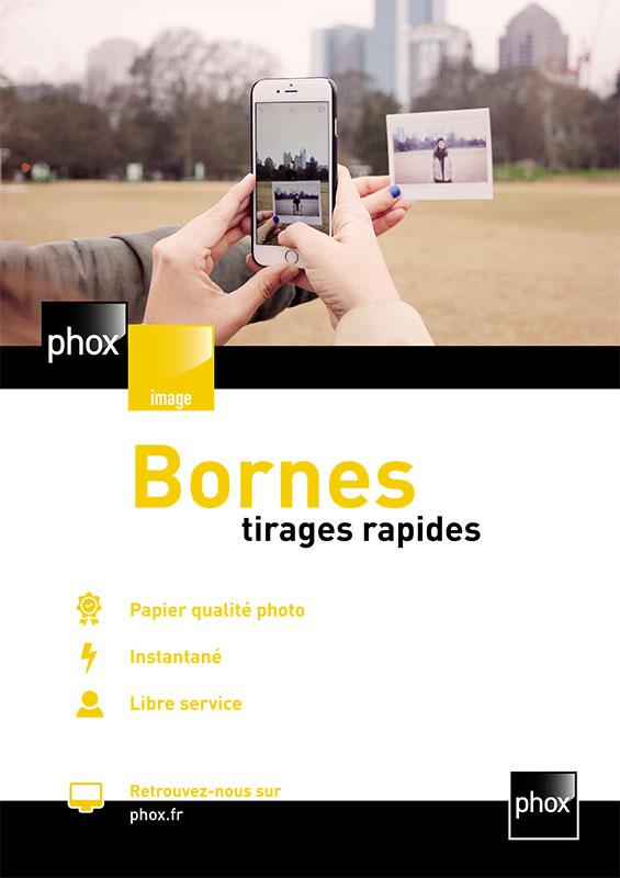 Service Phox : Bornes de tirages rapides