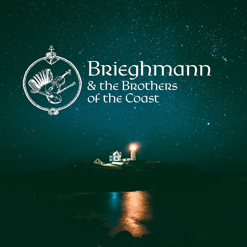 Digipack Brieghmann & The Brothers off the Coast